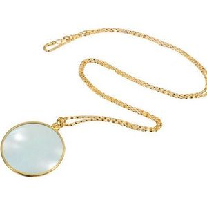 Jewelry - Gold magnifier necklace